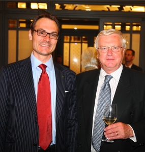 With Martin Lees Secretary-General, Club of Rome