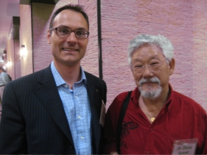 David Suzuki and Adam Koniuszewski