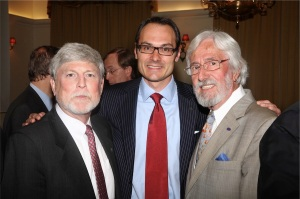 Bill Becker , Adam Koniuszewski & Jean-Michel Cousteau