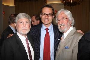 Bill Becker , Adam Koniuszewski & Jean-Michel Cousteau