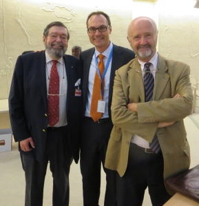 With energy expert Teddy Puttgen and Brice Lalonde (UN Special Envoy for Rio+20)