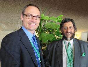 With IPCC Chairman Rajendra Pachauri