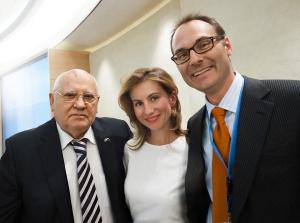Mikhail Gorbachev, Margo & Adam Koniuszewski