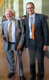 With Ernst von Weizsäcker