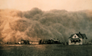 1935 Dust Storm in Texas