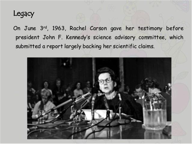 Silent Spring, By Rachel Carson (September 1962)